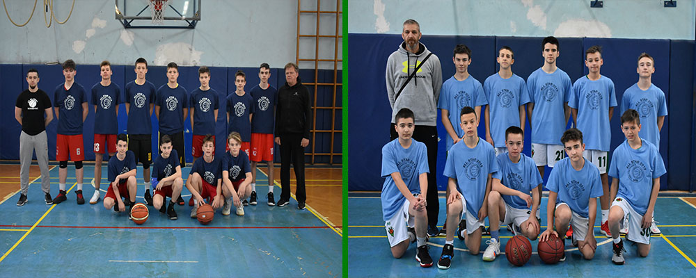 ALL STAR 2019 Liga M15, Selekcija i KK Vedi